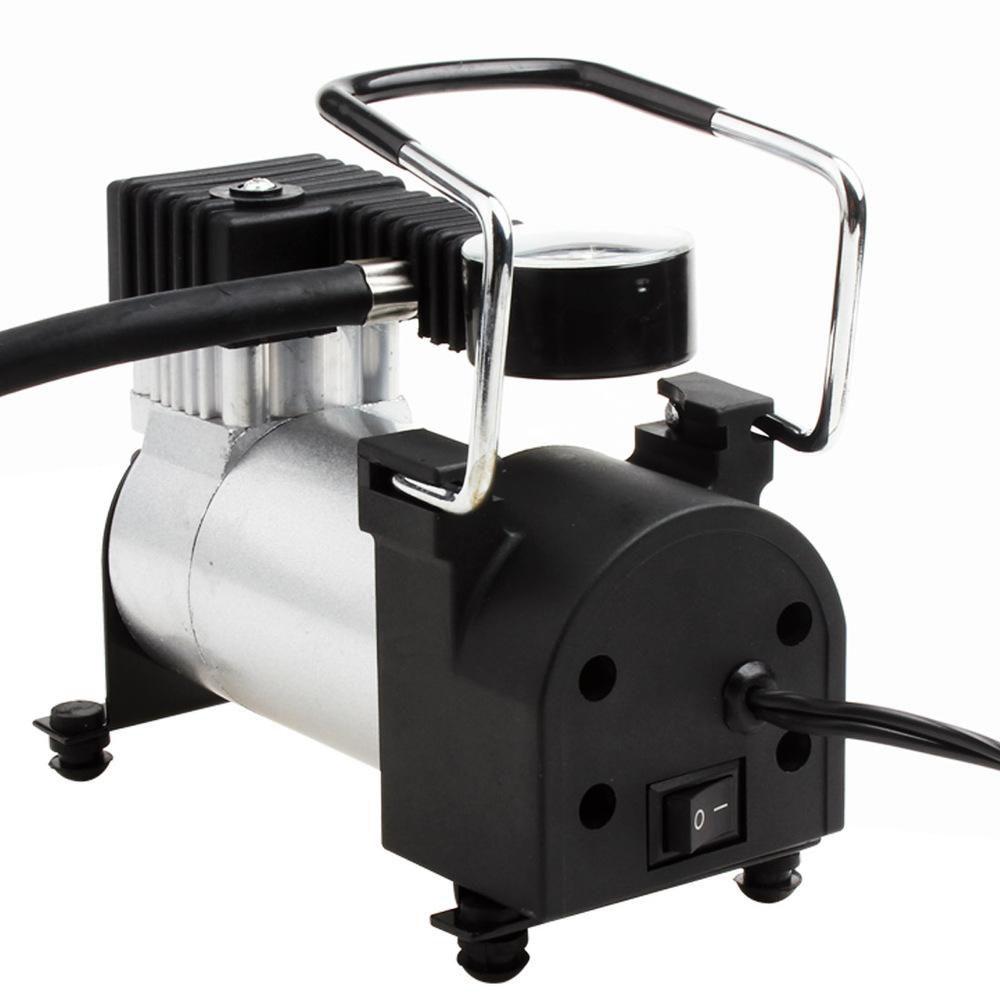 12V DC Portable Air Compressor Pump - Upgraded Digital Tire Inflator with Gauge