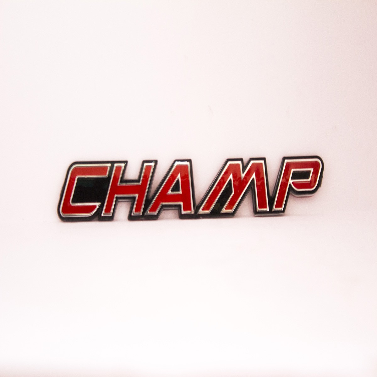 Champ Metal Logo Batch for Cars