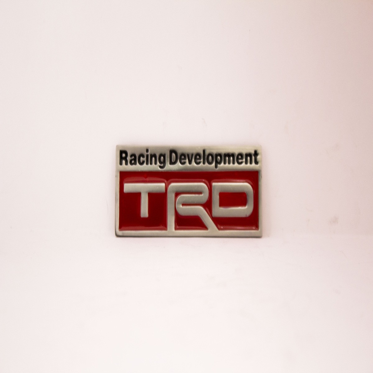 Racing Development TRD Metal Logo Batch for Cars