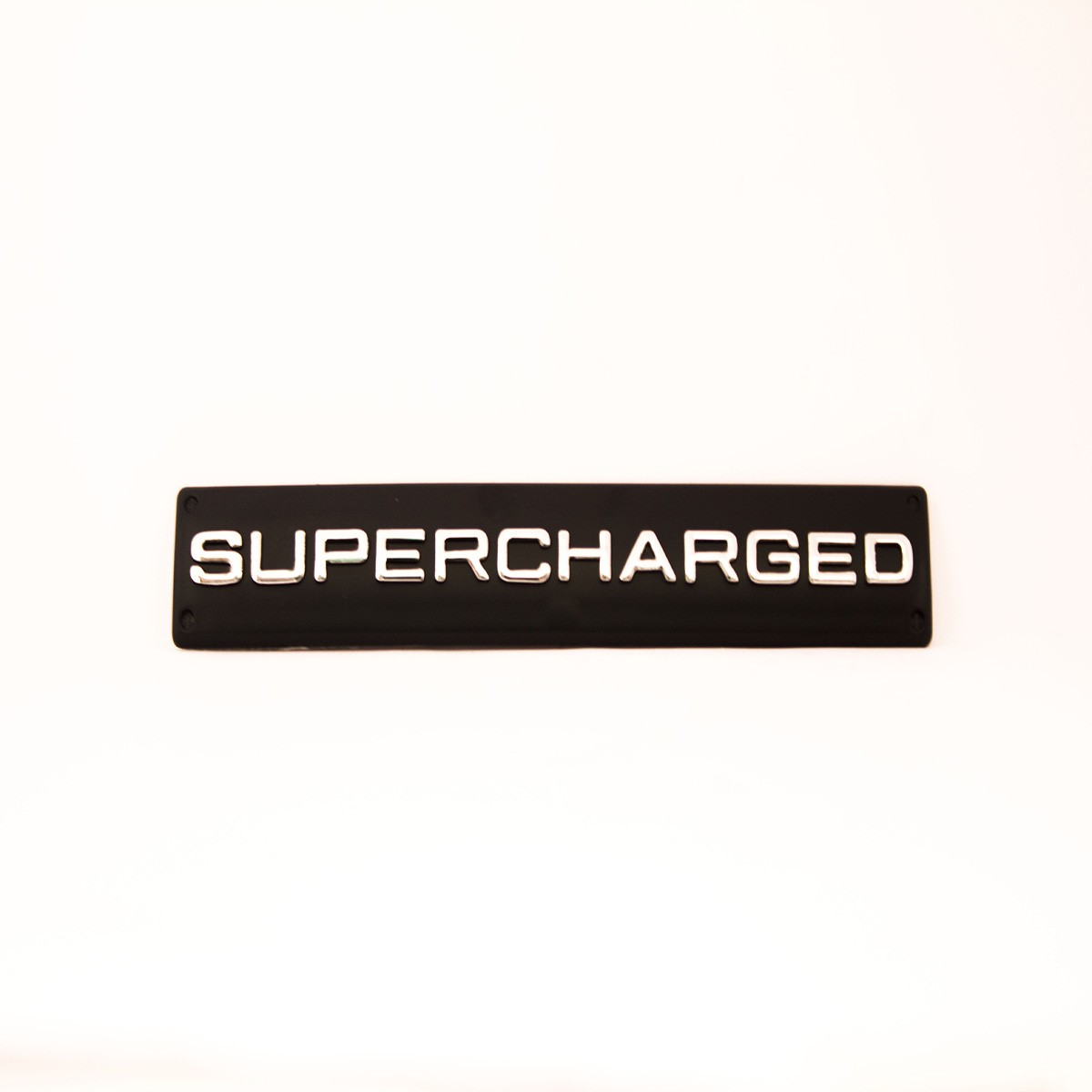 Supercharged Metal Logo Batch for Cars