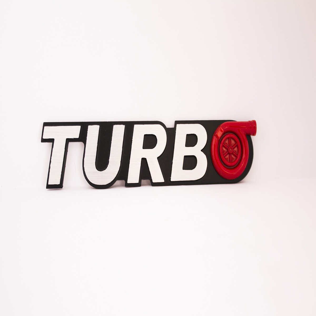 Turbo Metal Logo Batch for Cars