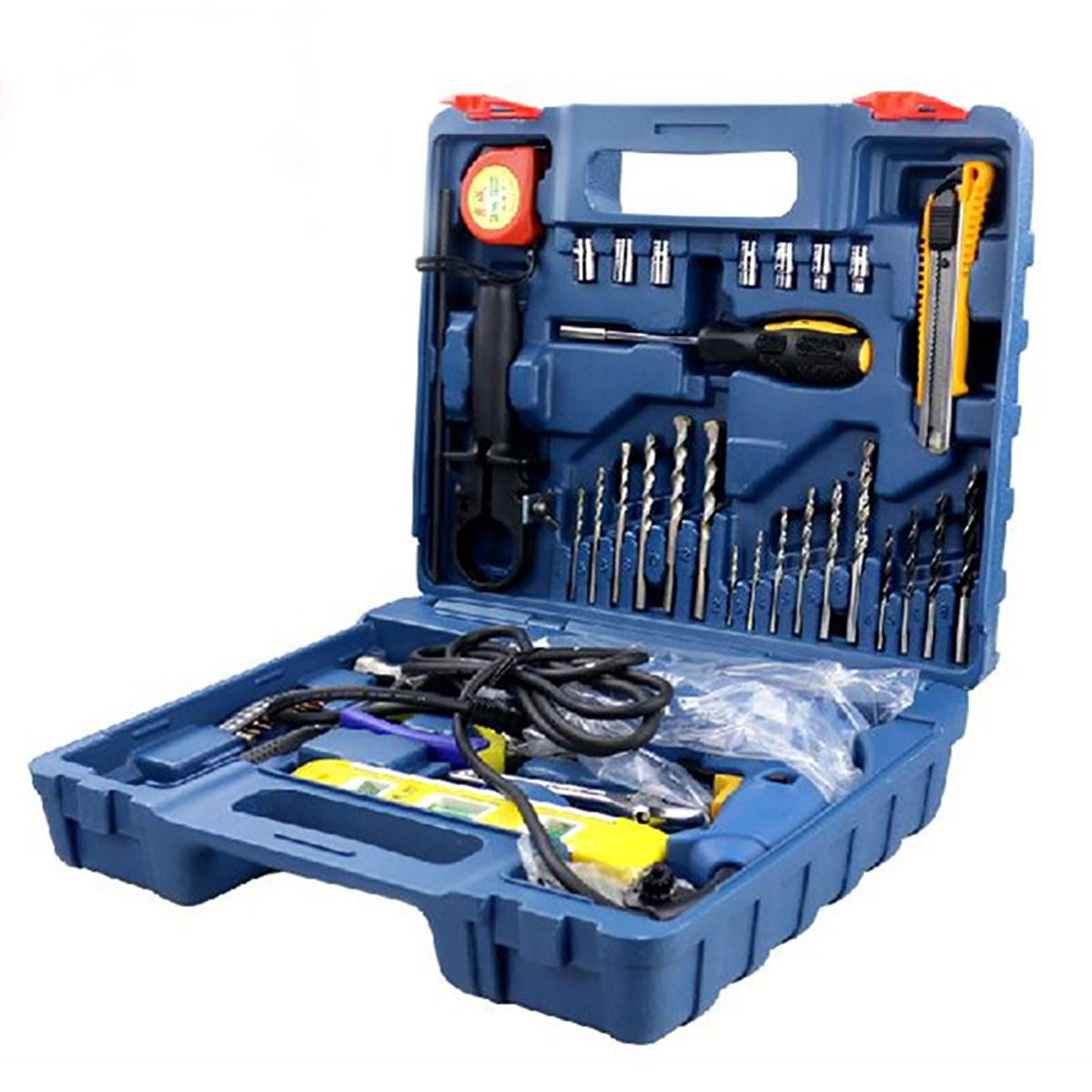 Dongcheng Tool Kit Set Z1J-FF04-13 500W 2600rpm and Power Drill