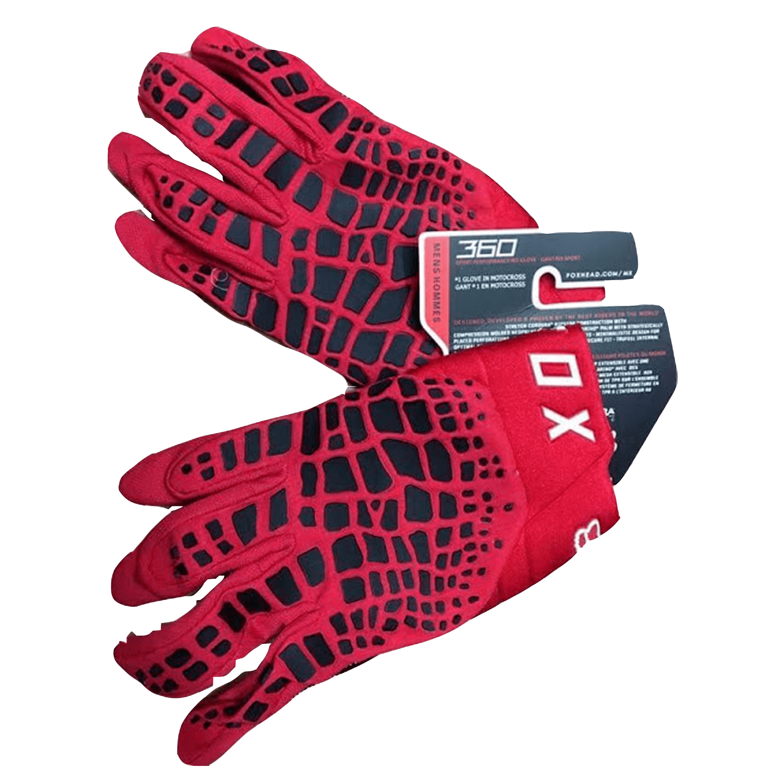 Fox Dirtpaw Gloves - Red