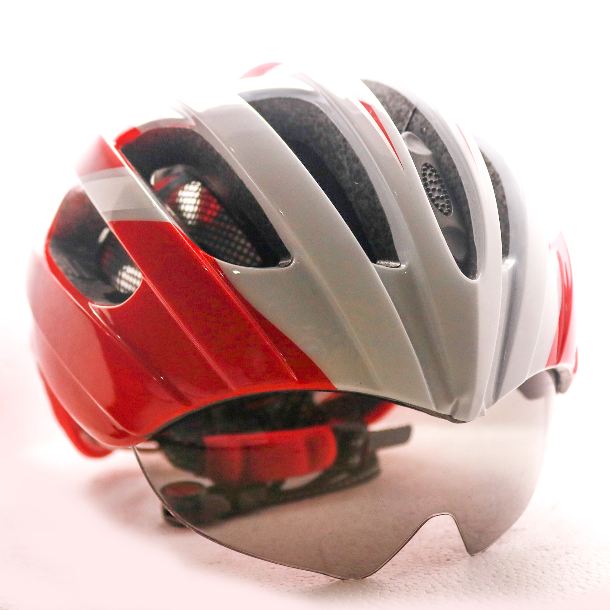 Cycling Helmet - Red (Soldier)
