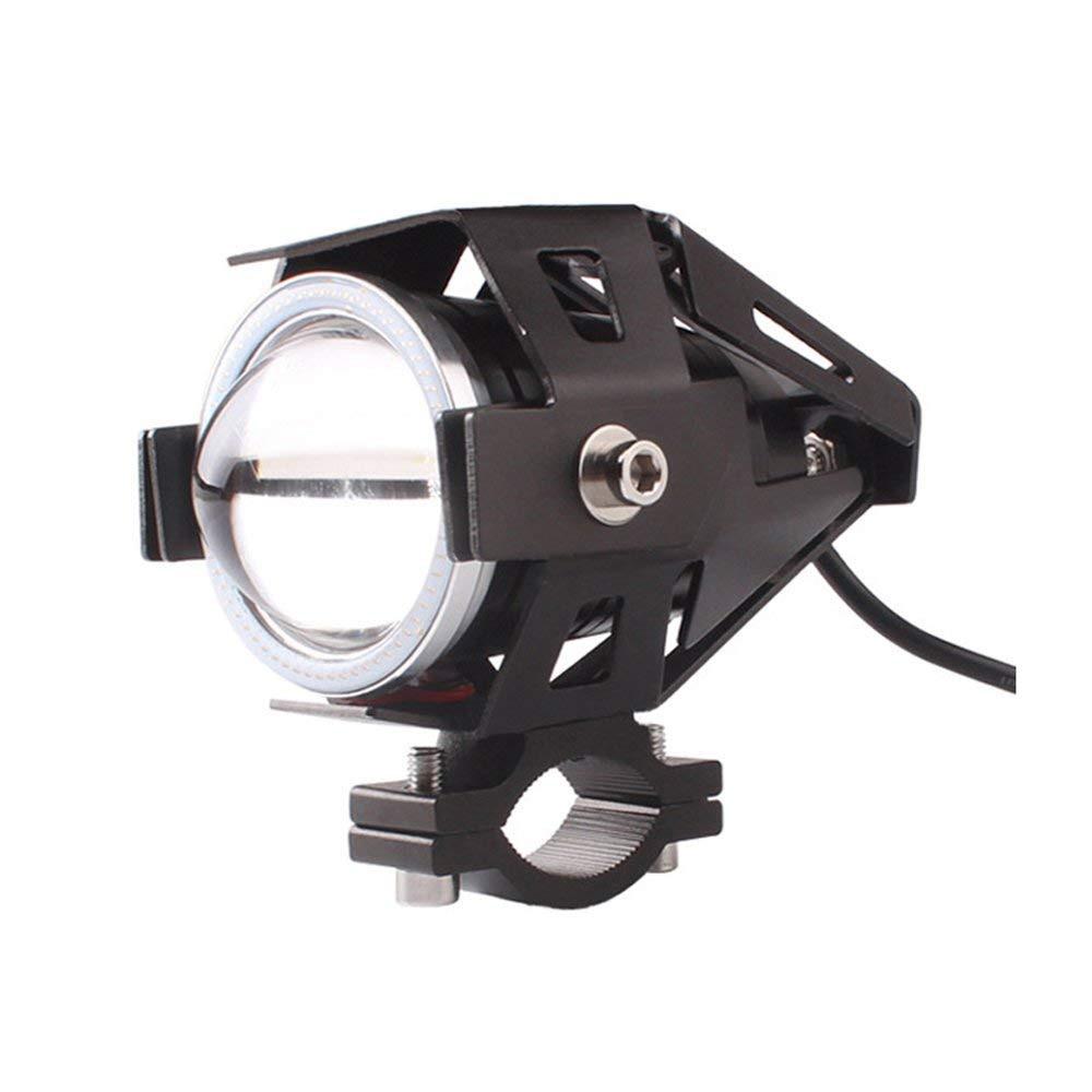 Motorcycle LED headlight U5 Fog Lights single color High performance high/low beam