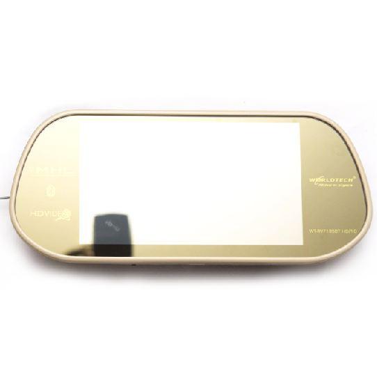 Rear view world tech - Golden