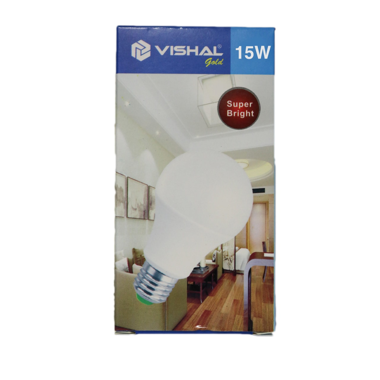 15 Watt Vishal Bulb (e27)