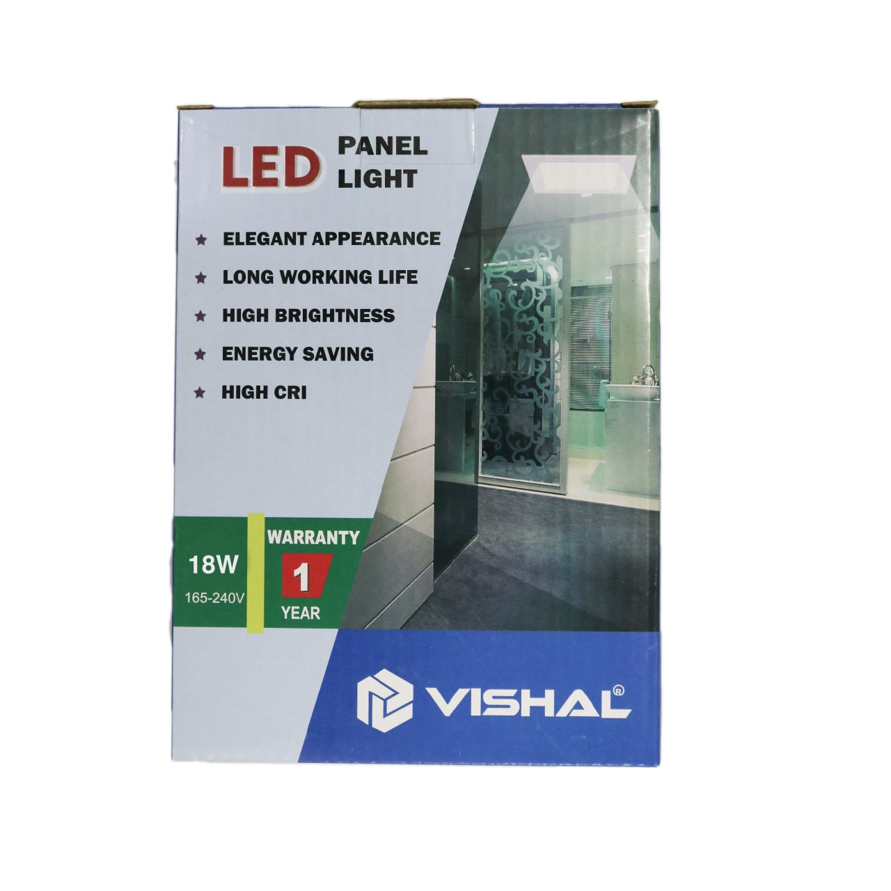18 Watt Vishal Panel Light – Conceal (Square)