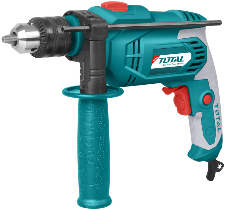 Total Tool TG106136 Impact drill 13mm  Variable Speed Trigger Ideal tool for DIY