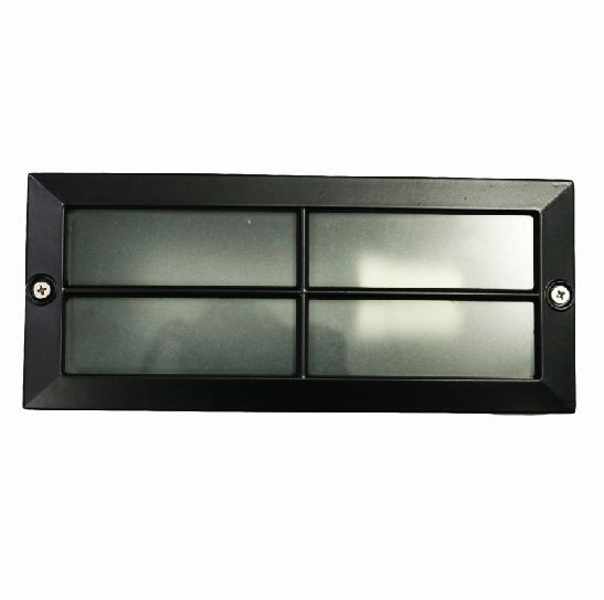 Foot light box (3 by 8) - Black