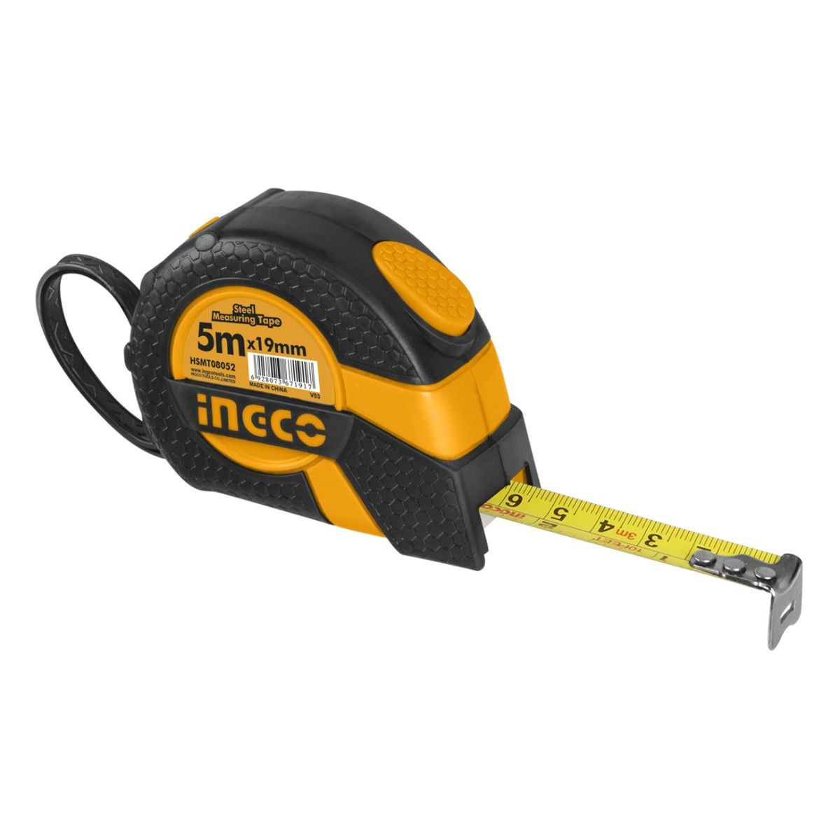 Ingco  5mx19mm Steel measuring tape HSMT08052