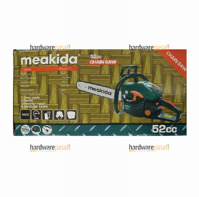 "Meakida MD-9016A 22"" (550mm) Chain Saw gasoline"