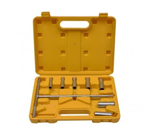 Eastman T- Handle Socket Wrench Set E- 2219