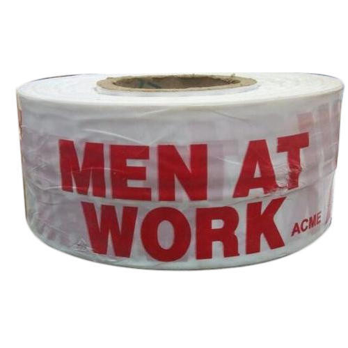 500 Meter Caution Tape- Men At Work Roll