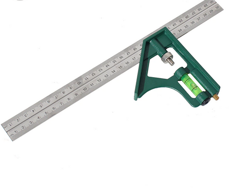Berrylion 300mm Combination Square Ruler 070708300