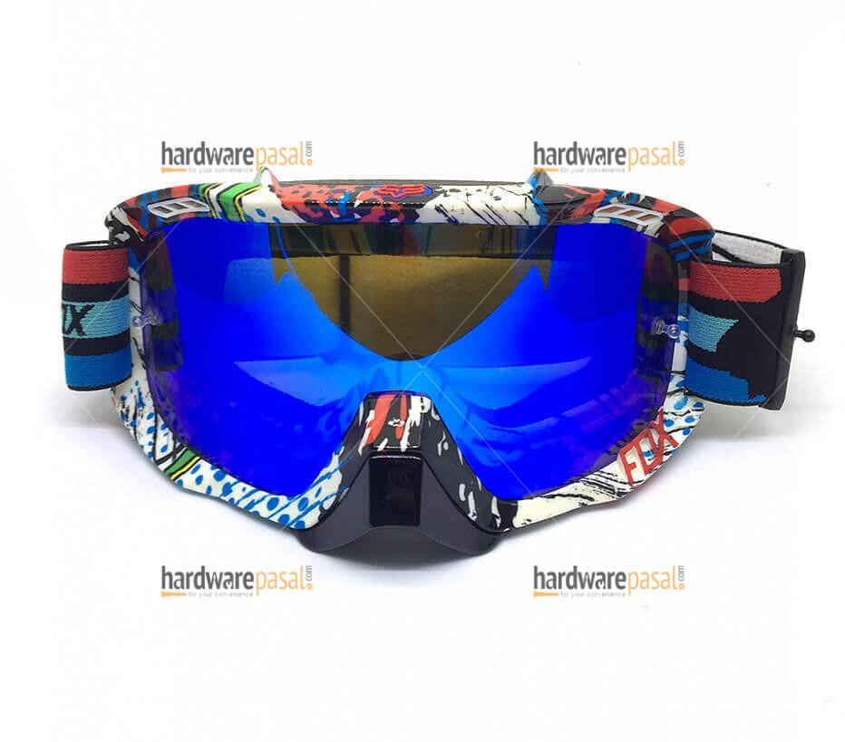 Fox Blue Glass Air Defense Goggles
