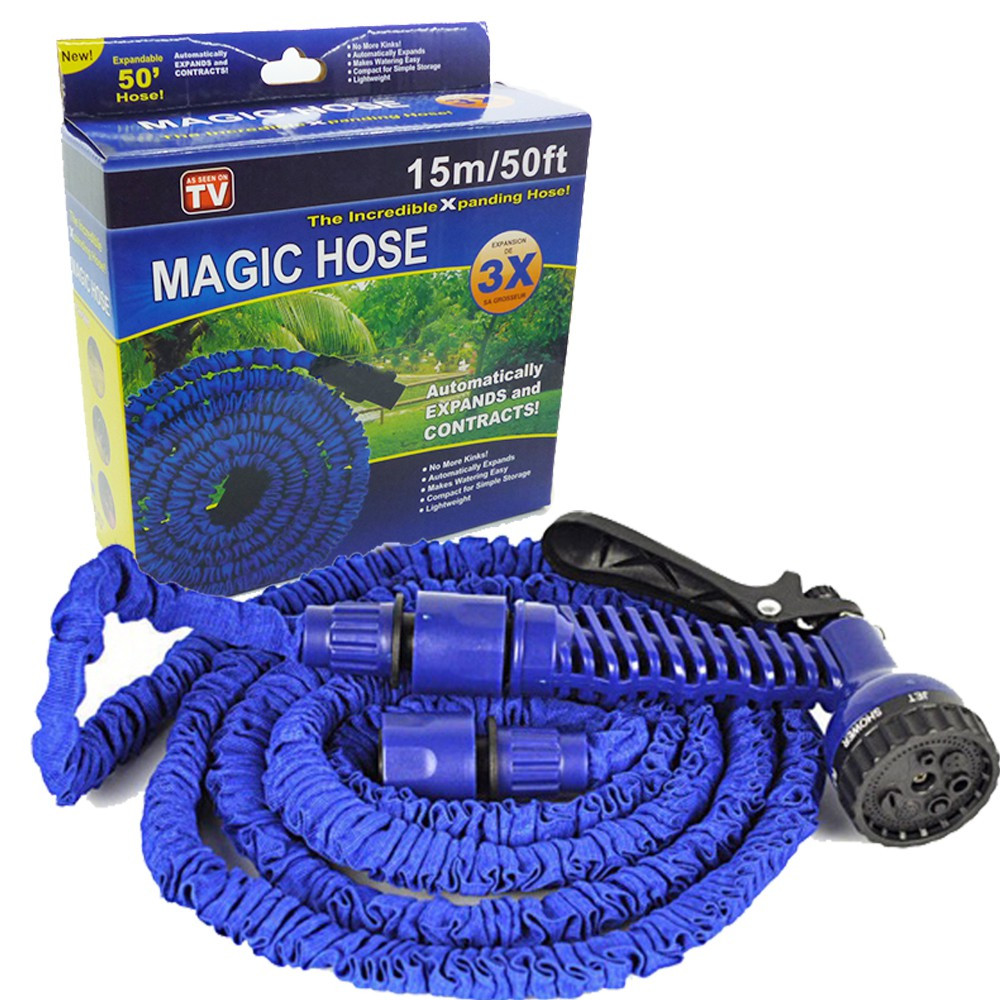 50 Ft Magic Hose and Spray Gun