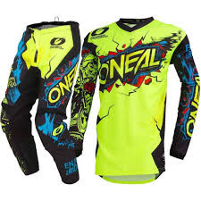 Oneal Jersey- Neon and Black Mix