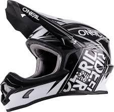 Dot helmet Black and white Oneal