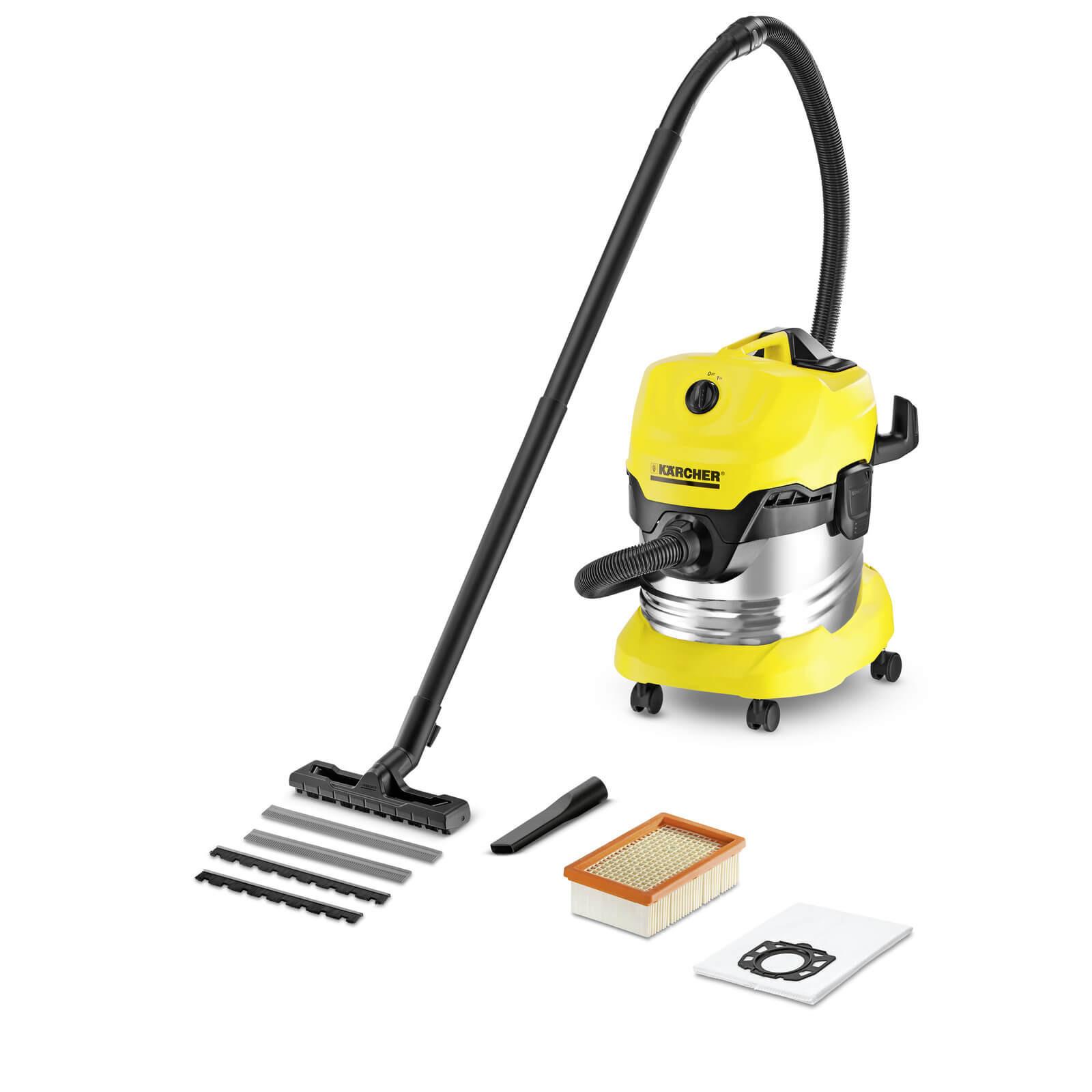 KARCHER Multi Purpose Vacuum Cleaner- WD 4 Premium