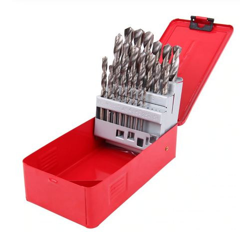 Twist Drill Bit Set (1-13mm) Red Box