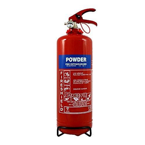 ABC 2KG Dry Powder Fire Extinguisher Fireshield PRO