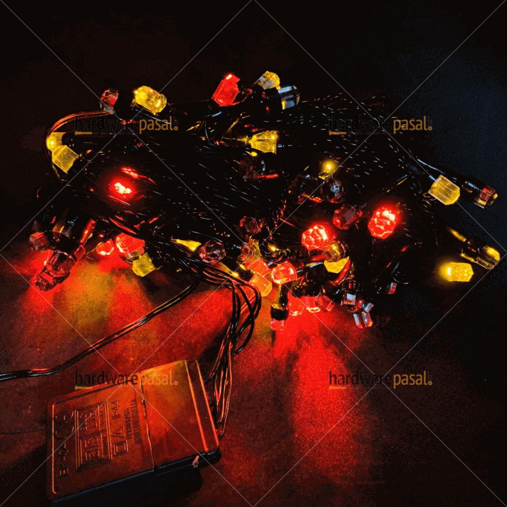 100 led Tihar Light - multi colour