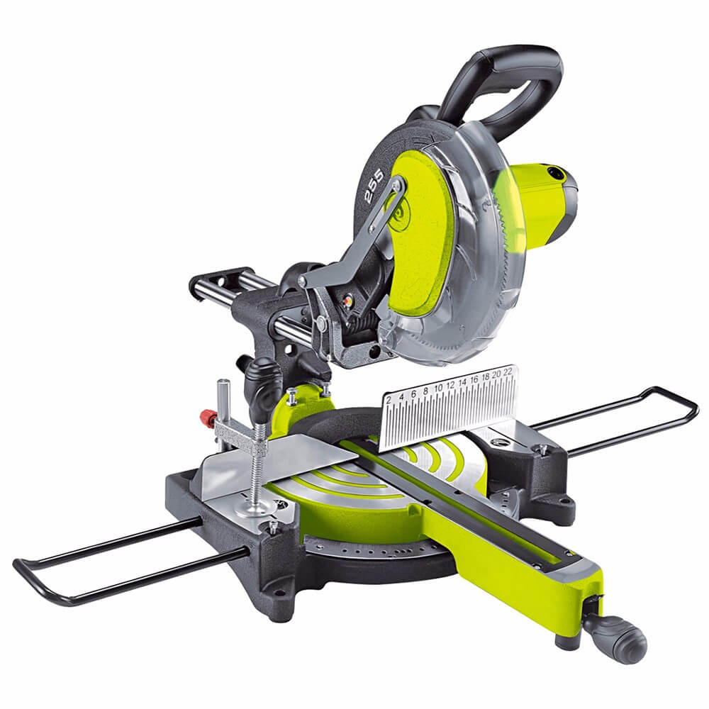 Prescott 1800Watt 255mm Miter Saw Sliding PT0825502