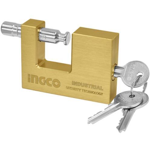 Block padlock