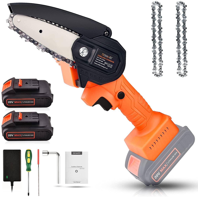 Cordless chain saw