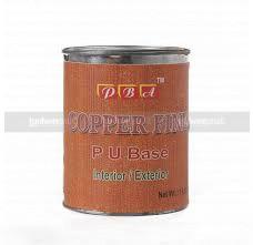 Copper fine PU base