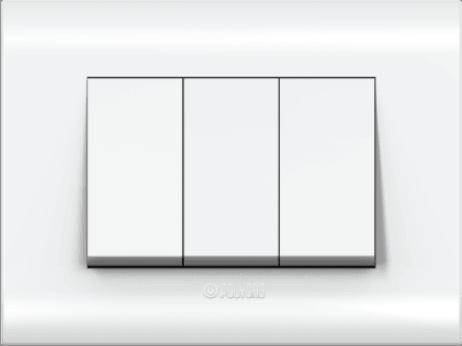 Glossy White Plate- Flate/Curve