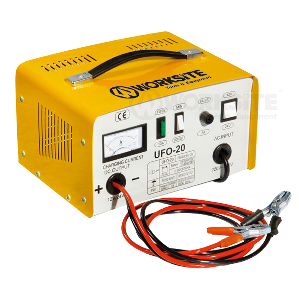 Battery charger & tester